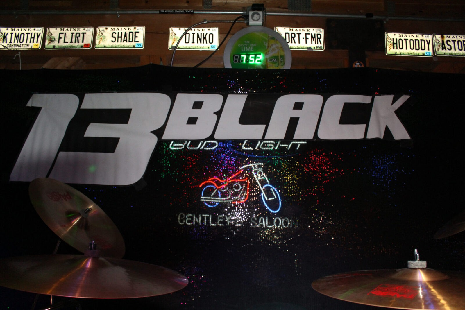13 black banner