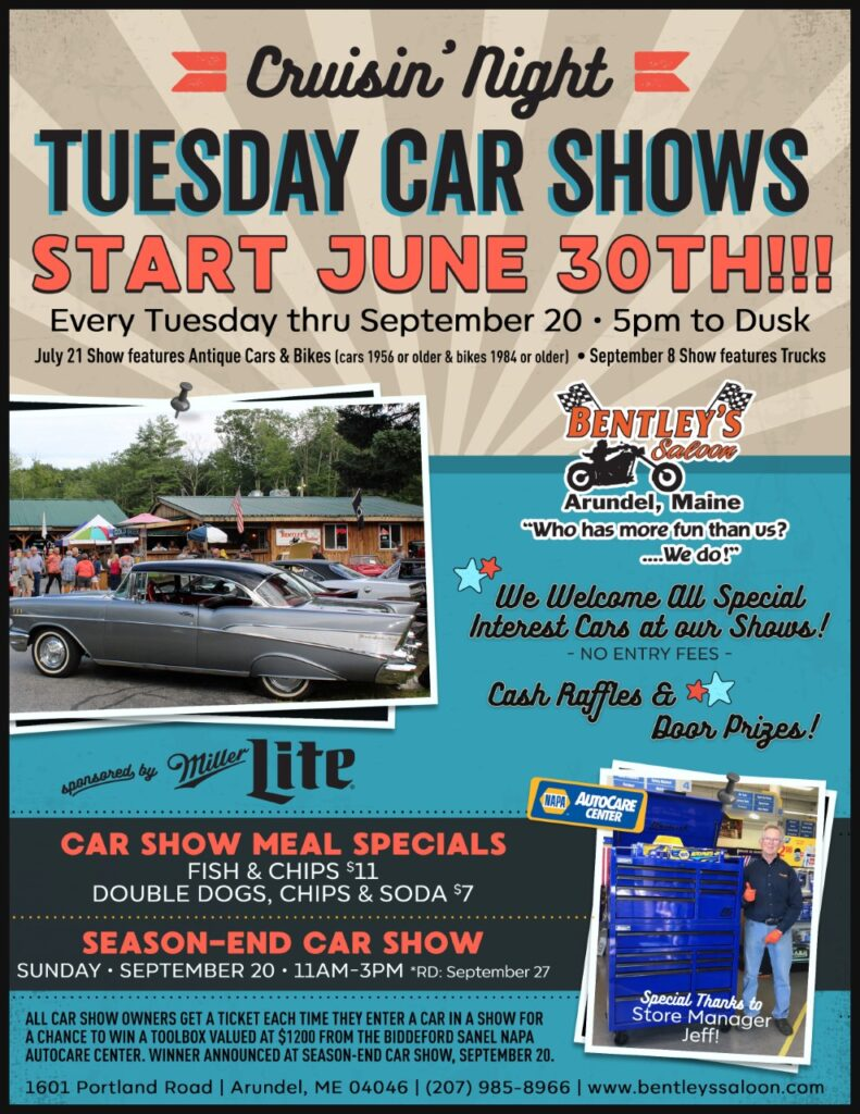 2020 Cruisin_Tuesday_Car Shows_v2