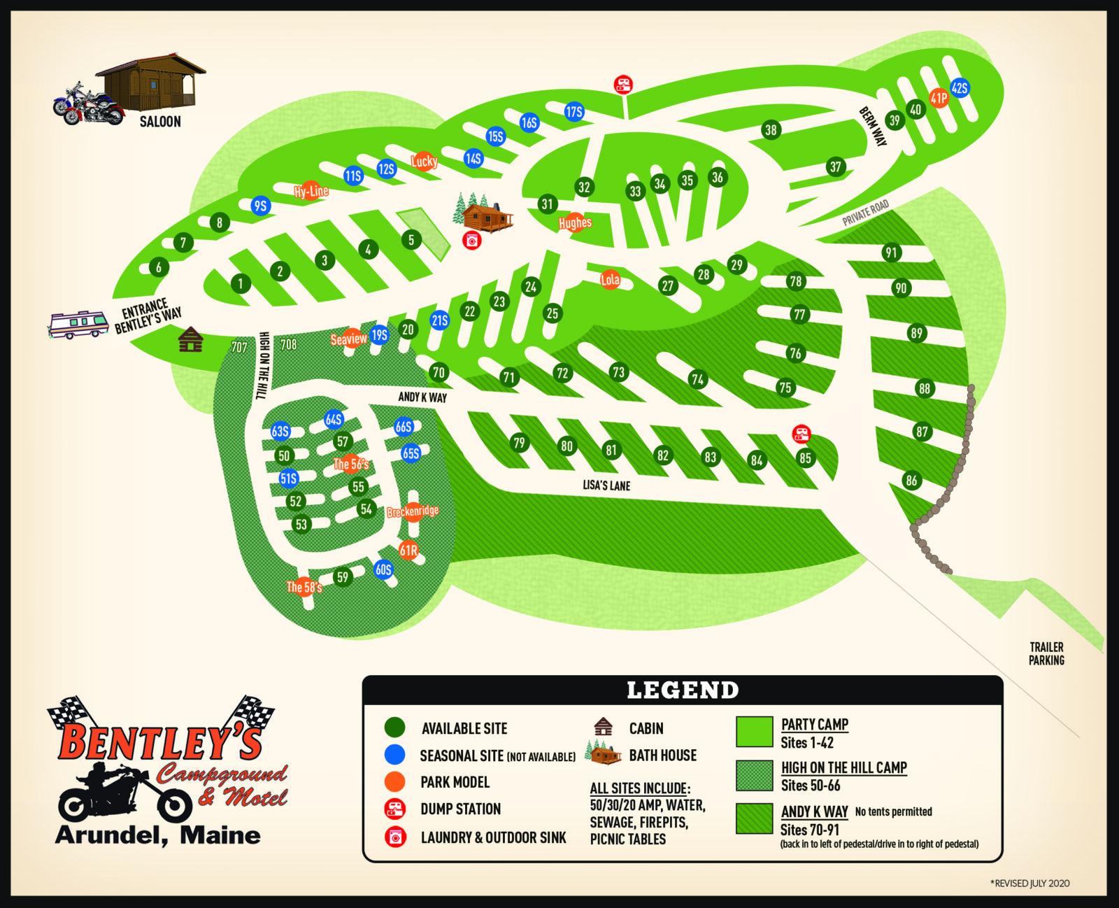 2020 Bentleys Campground Map_rev7_20